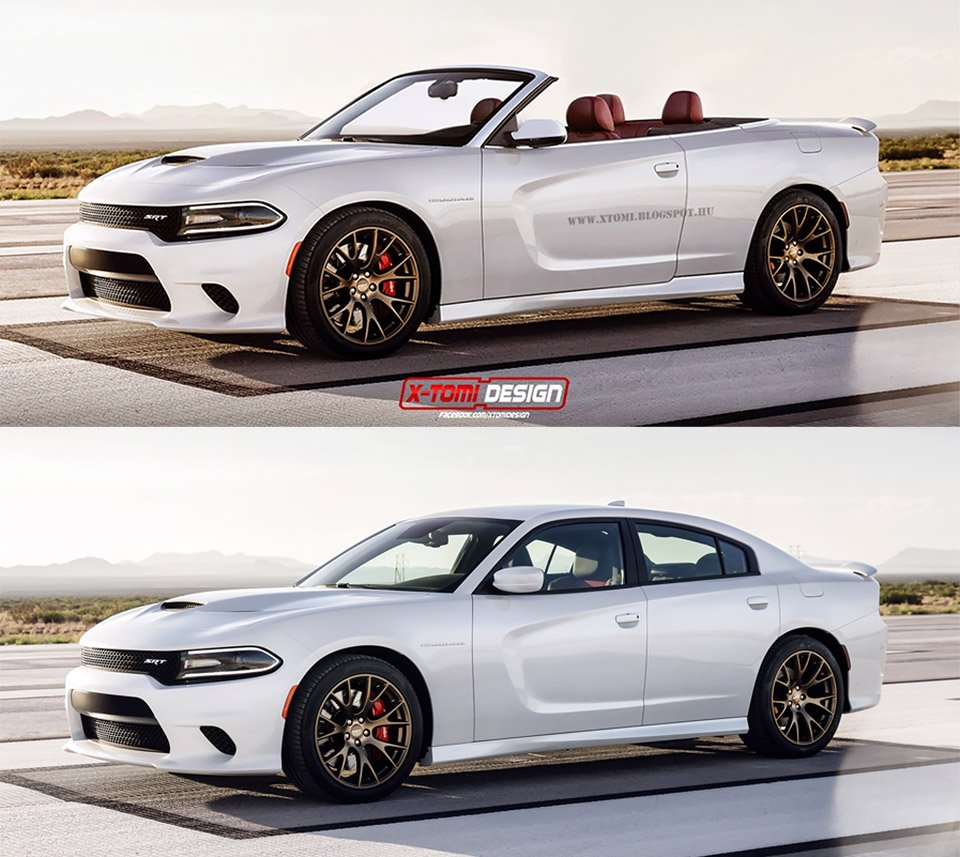 Even If Dodge Wanted To Create A Convertible It S Much More Likely They D Do With The Challenger Since Coupe In Line And Charger Is