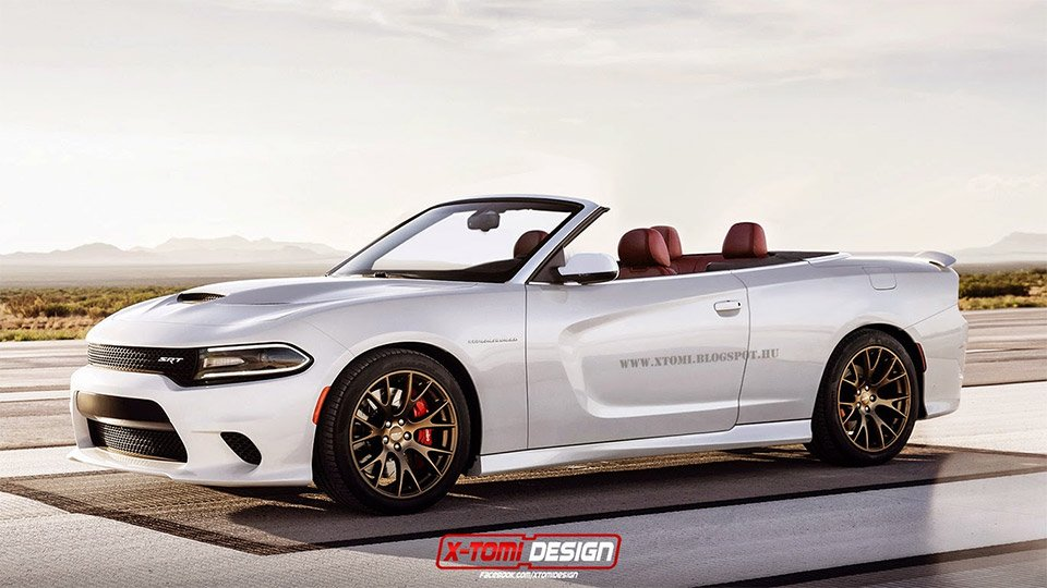 Dodge Charger SRT Hellcat Convertible Concept
