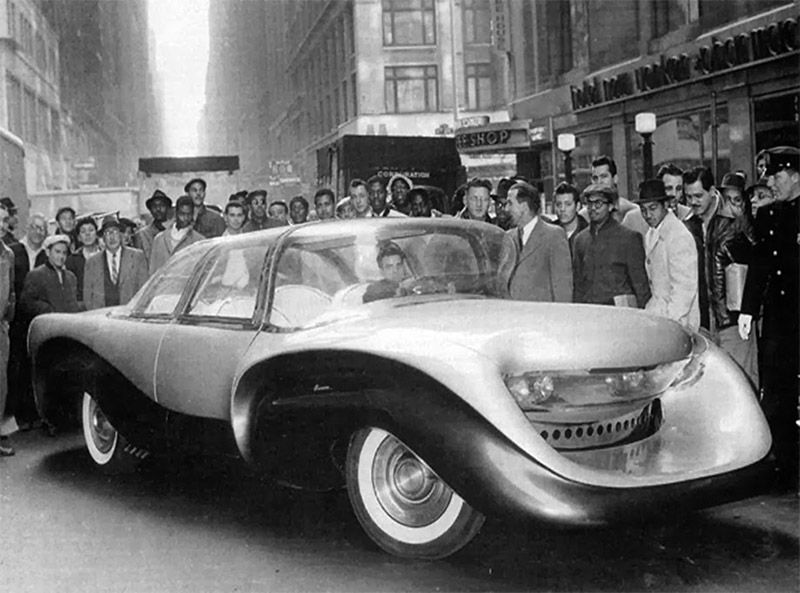 Concepts From Future Past 1957 Aurora Safety Car 95 Octane