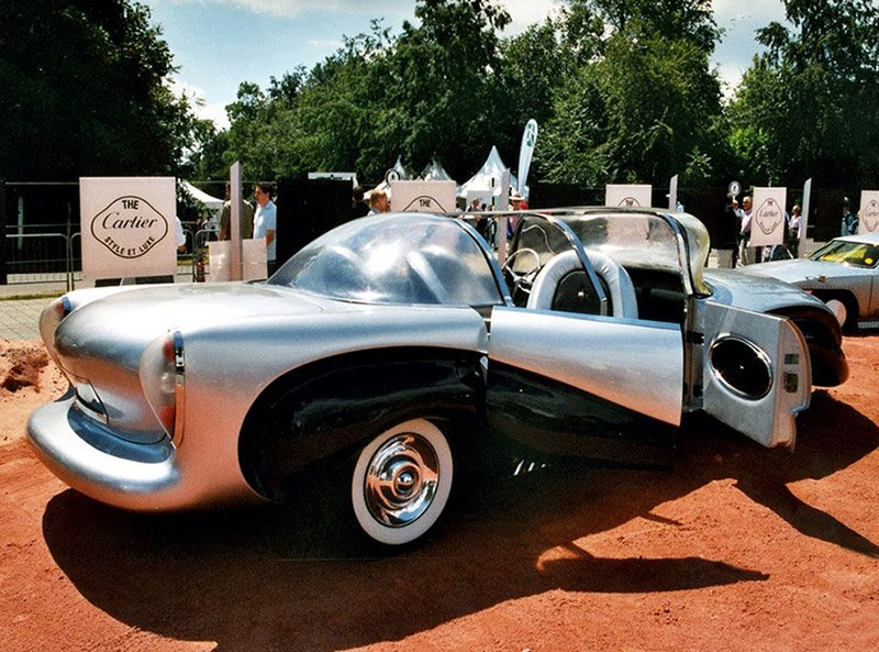 National Tire And Wheel >> Concepts from Future Past: 1957 Aurora Safety Car - 95 Octane