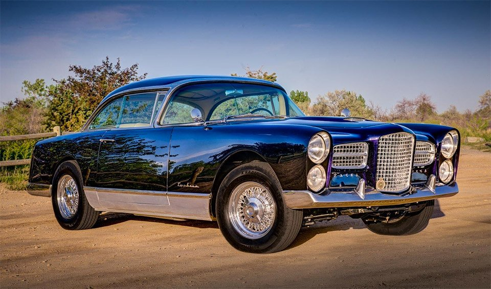 Rare 1958 Facel Vega FVS Typhoon on eBay
