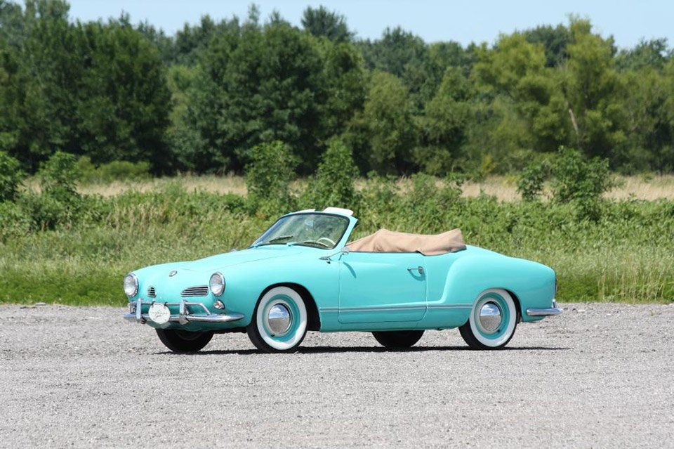 1964 Volkswagen Karmann Ghia Convertible on eBay
