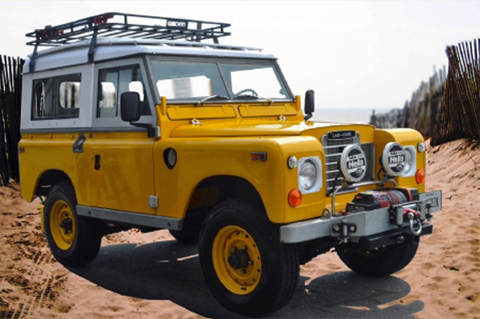 rugged 1972 land rover 88 for sale 95 octane. Black Bedroom Furniture Sets. Home Design Ideas