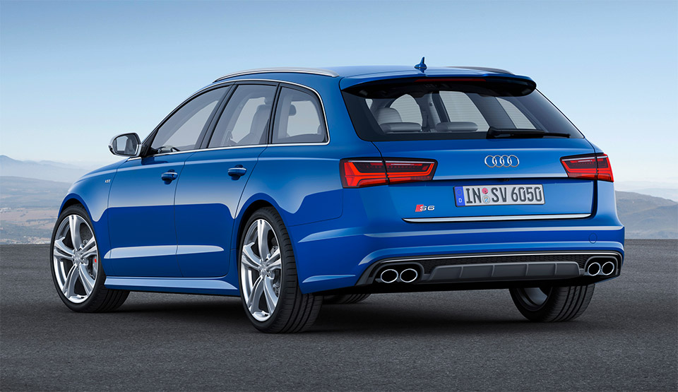 2015 audi s6 s6 avant and rs6 avant 95 octane