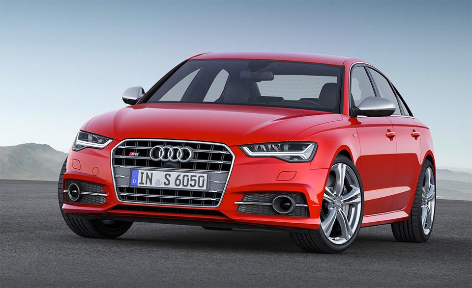 2015 Audi S6, S6 Avant and RS6 Avant