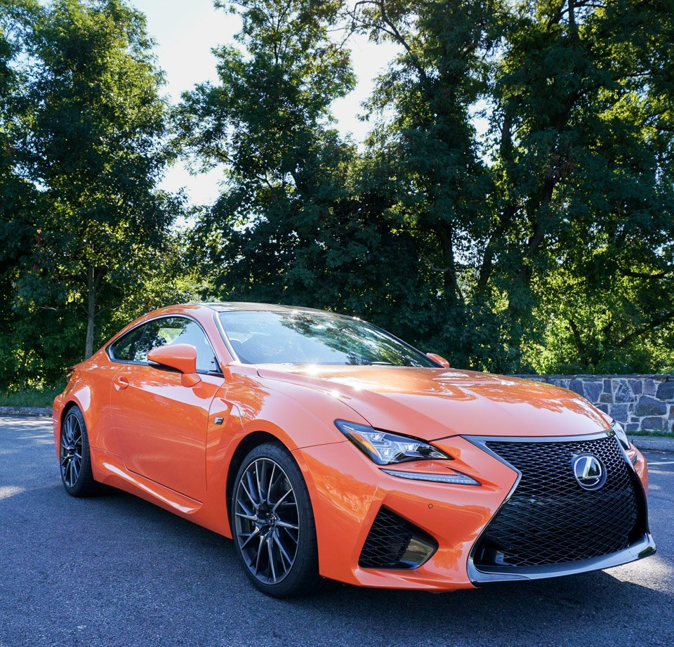 Lexus: First Drive: Lexus RC F And RC 350