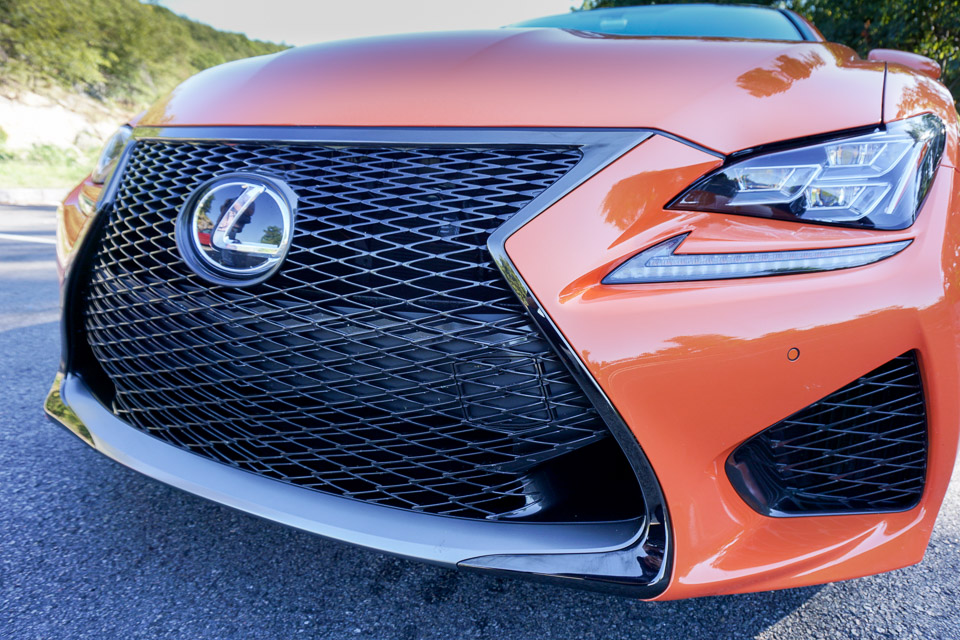 First Drive: Lexus RC F and RC 350 - 95 Octane