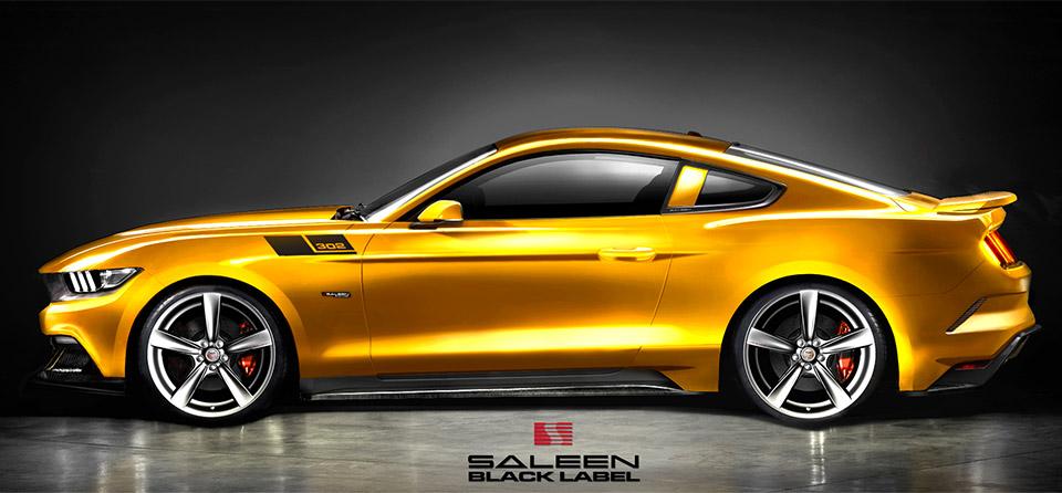 2015 Saleen S302 Mustang Specs Revealed