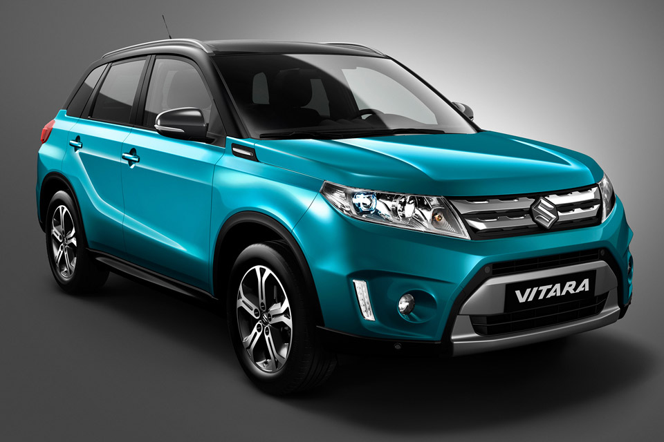 Suzuki Shows 2015 Vitara Ahead of Paris Motor Show