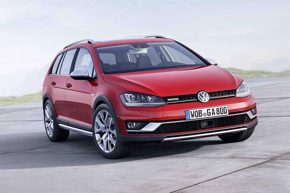 2015 Volkswagen Golf Alltrack Previewed