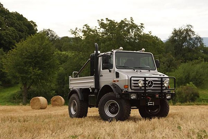 Arnold's Mercedes-Benz Unimog for Sale