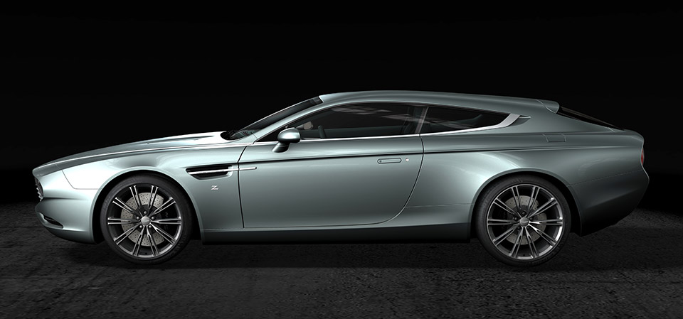 Aston Martin Zagato Virage Shooting Brake