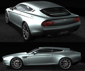 Aston Martin Zagato Virage Shooting Brake