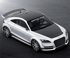 Behind the Wheel: Audi TT Ultra Quattro Concept