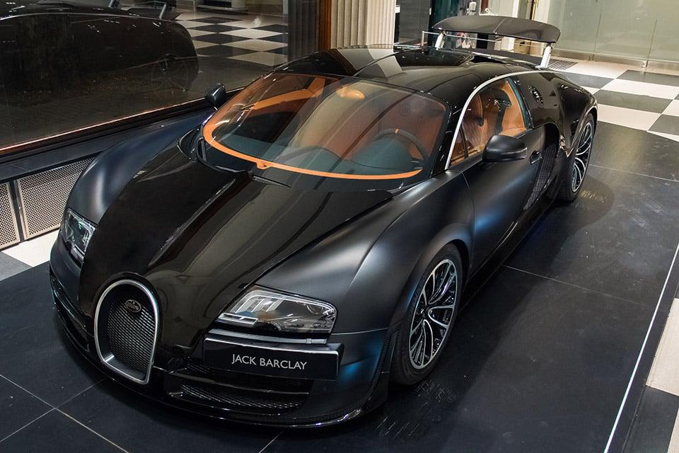 Awesome Car Pic Bugatti Veyron In Matte Black 95 Octane