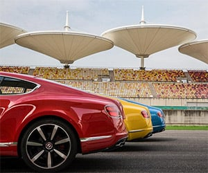 Awesome Car Pic: A Rainbow of Bentleys