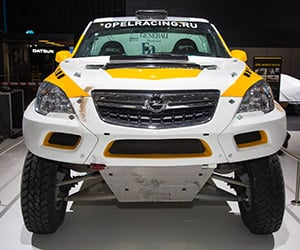 Heavily Modded Buick Encore Ready for Dakar