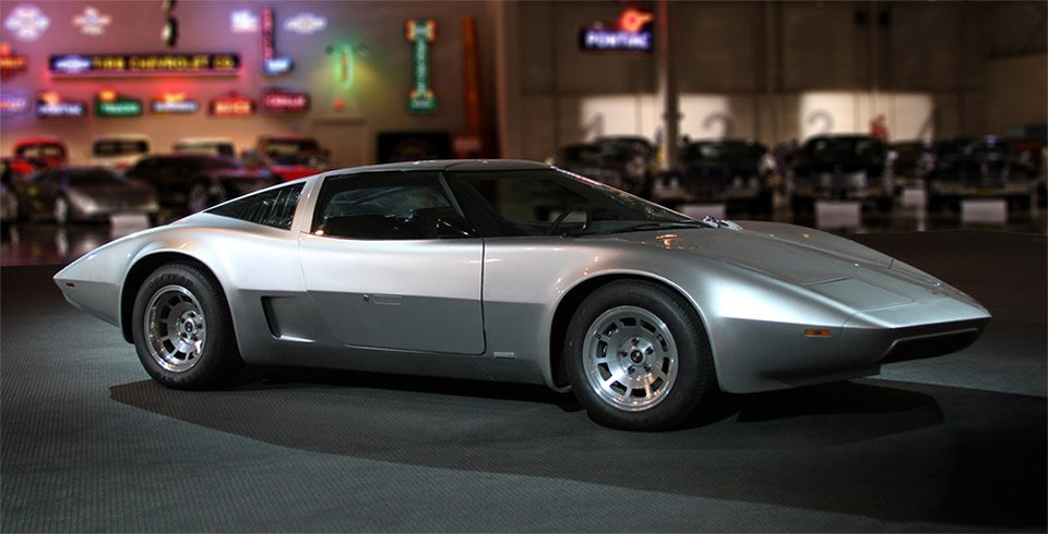 Cars from Future Past: 1973 AeroVette Concept - 95 Octane