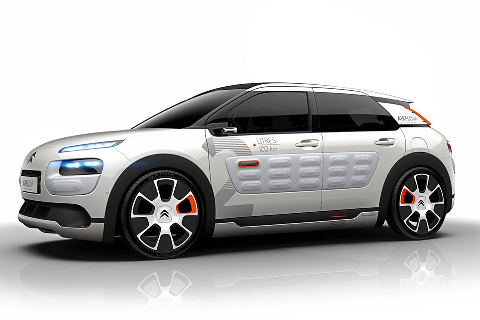 2014 Citroën C4 Cactus AIRFLOW 2L Unveiled