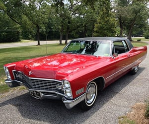 Elvis' 1967 Cadillac Coupe de Ville Heads to Auction