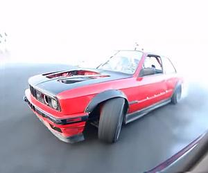 BWM Drifting: Reverse POV