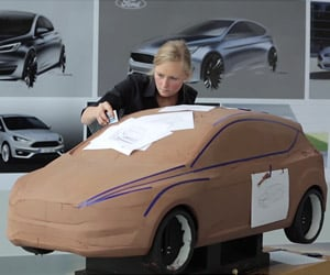 Inside Ford: Creating Clay Models