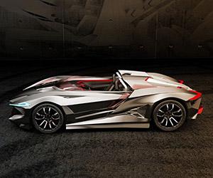 Vapour GT Supercar Design Concept