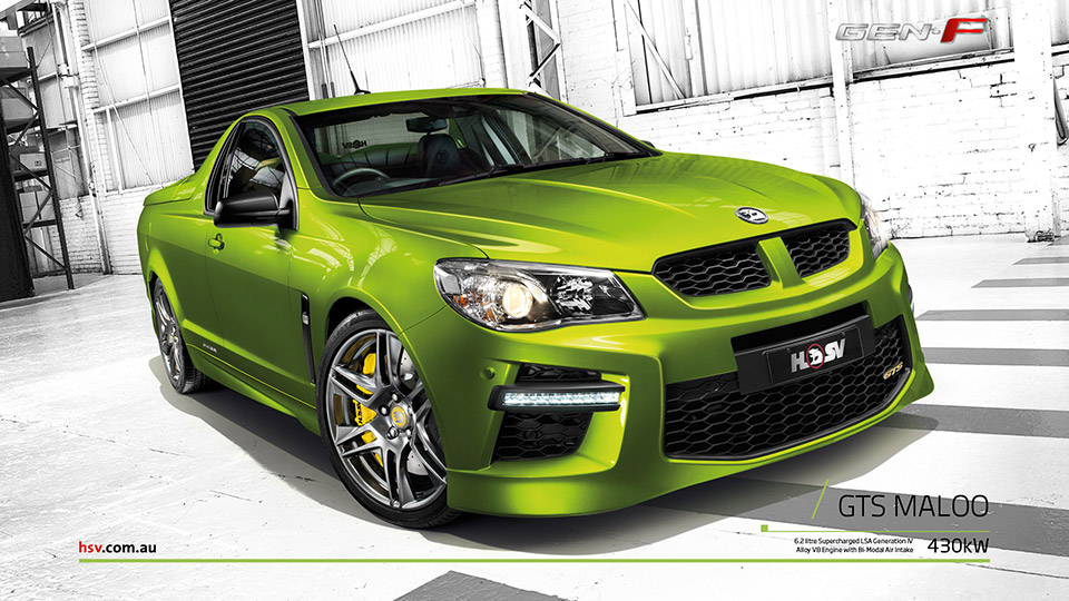 Holden Reveals 585hp GTS Maloo Performance Ute