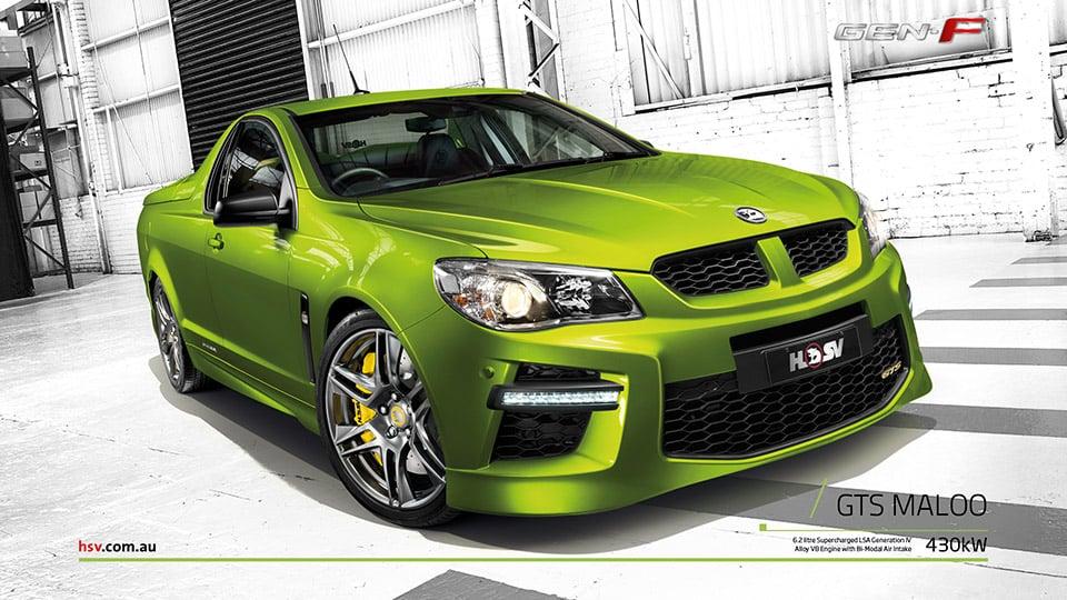 Holden Reveals 585hp GTS Maloo Performance Ute