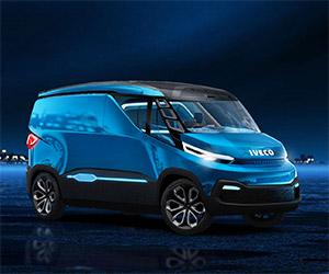 Iveco Unveils Vision Concept Cargo Van