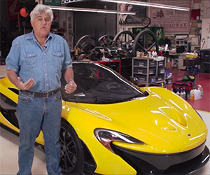 Jay Leno Wraps His $1 Million+ McLaren P1