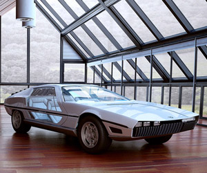 Concepts from Future Past: 1967 Lamborghini Marzal