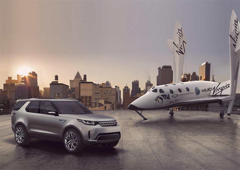 Win a Trip Into Space Courtesy of Land Rover