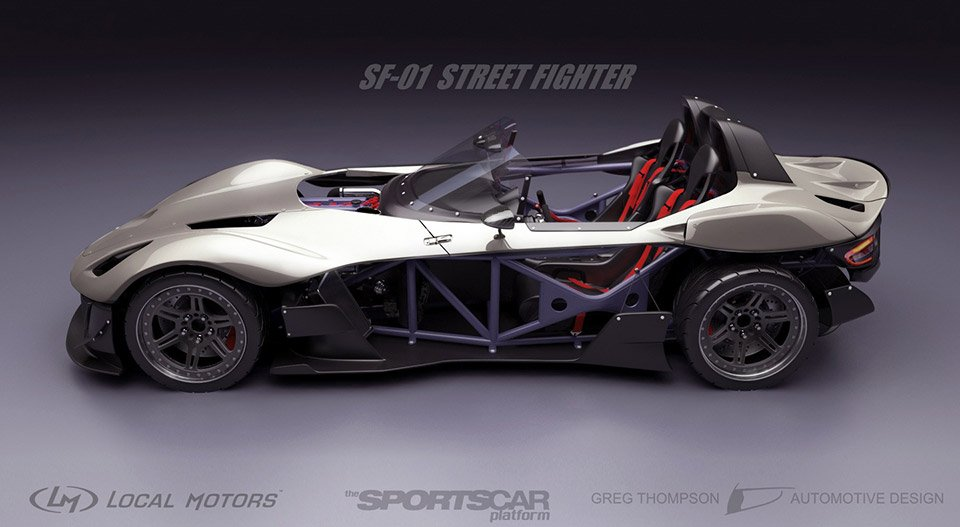 Local Motors Rally Fighter >> Local Motors Chooses Sports Car Design Winners - 95 Octane