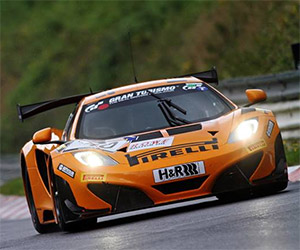 McLaren MP4-12C GT3 Sets Nürburgring Lap Record