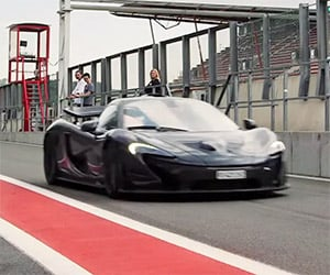 New McLaren P1 Owner Goes to the Track