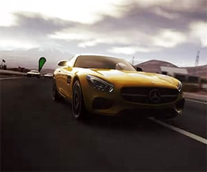 Drive the Mercedes-Benz AMG GT in PS4's DriveClub