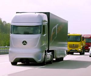 Mercedes-Benz Autonomous Future Truck