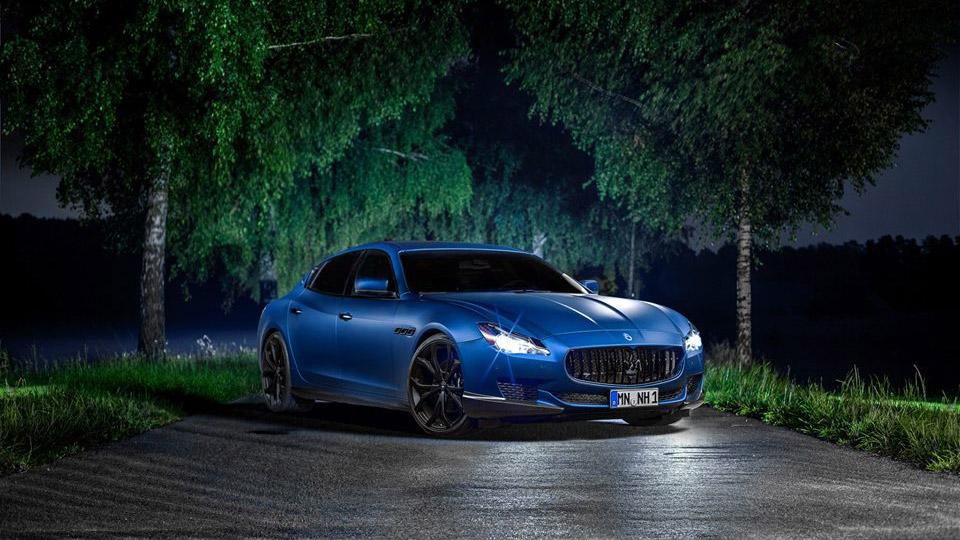 Novitec Maserati Tridente Quattroporte