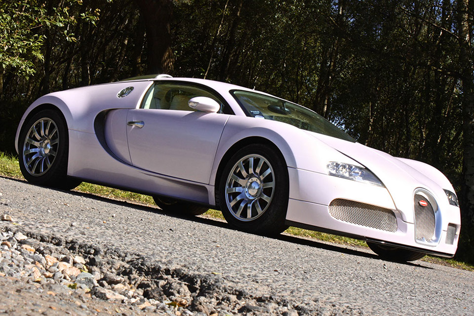 Suzuki Car Dealership >> Pink Bugatti Veyron: Yours for $1.5 Million