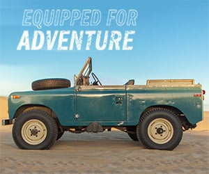 Adventuring with a Land Rover Series III