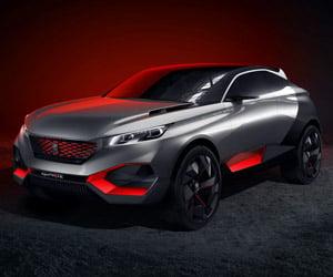 Peugeot Quartz Crossover SUV Concept
