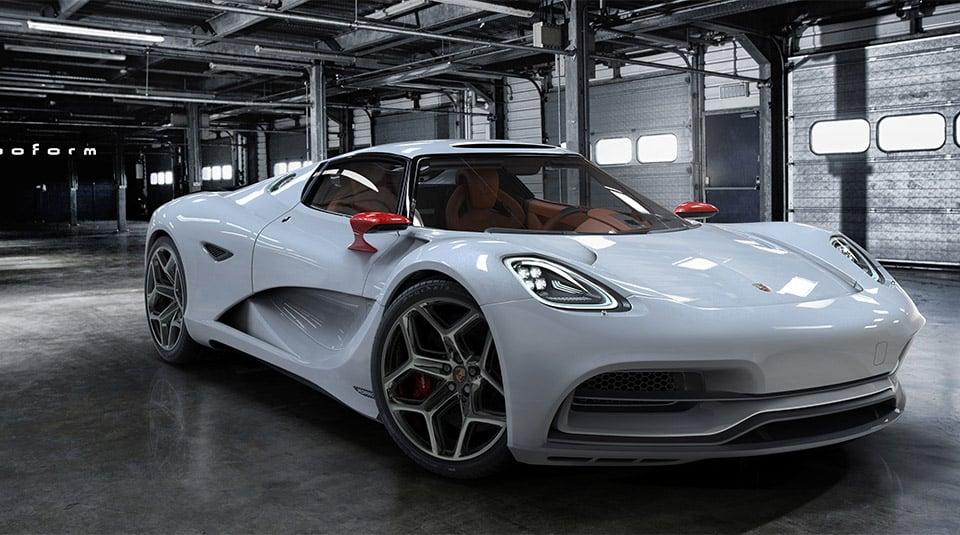 Porsche 913 Hybrid Concept - 95 Octane