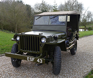 Dwight D. Eisenhower's 1943 Willys Jeep Hits eBay