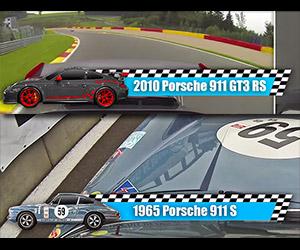 2010 Porsche GT3 RS vs. 1965 Porsche 911 S