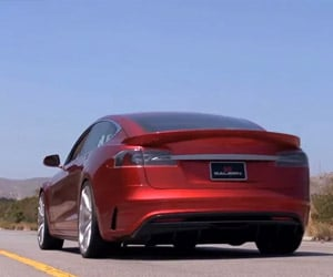 Saleen FOURSIXTEEN Tesla Model S Sounds off