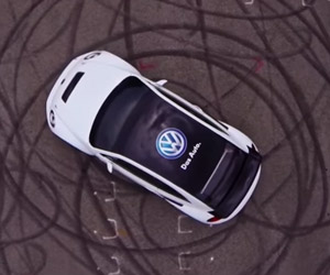 Tanner Foust Rings out his Rallycross VW Beetle