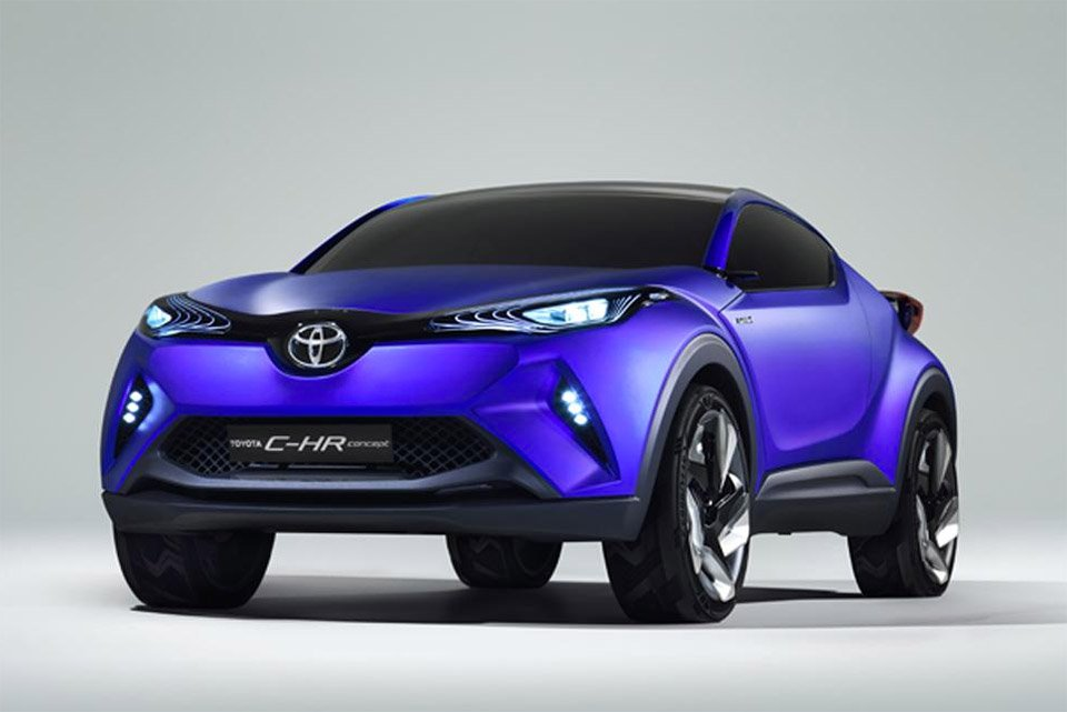 Toyota Teases New C-HR Concept Crossover