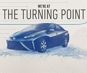 Toyota Touts a Future with Hydrogen Fuel Cell Vehicles