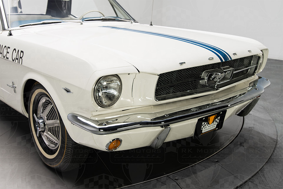 1964 1 2 ford mustang indy pace car up for sale. Black Bedroom Furniture Sets. Home Design Ideas